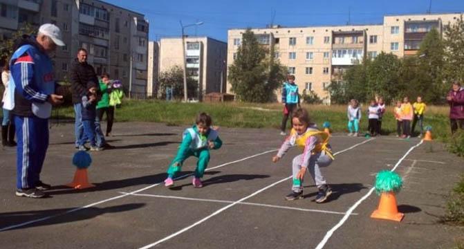 Челночный бег для школьников