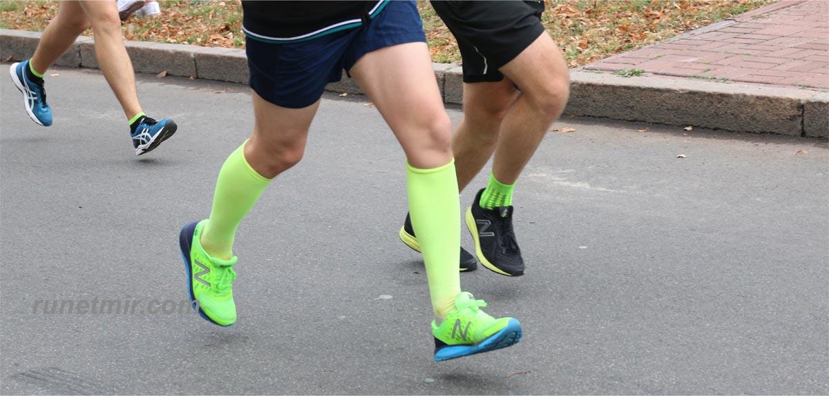 бег на дистанции 2000 метров