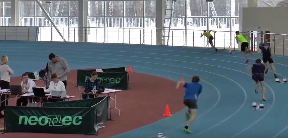 бег на 400 метров