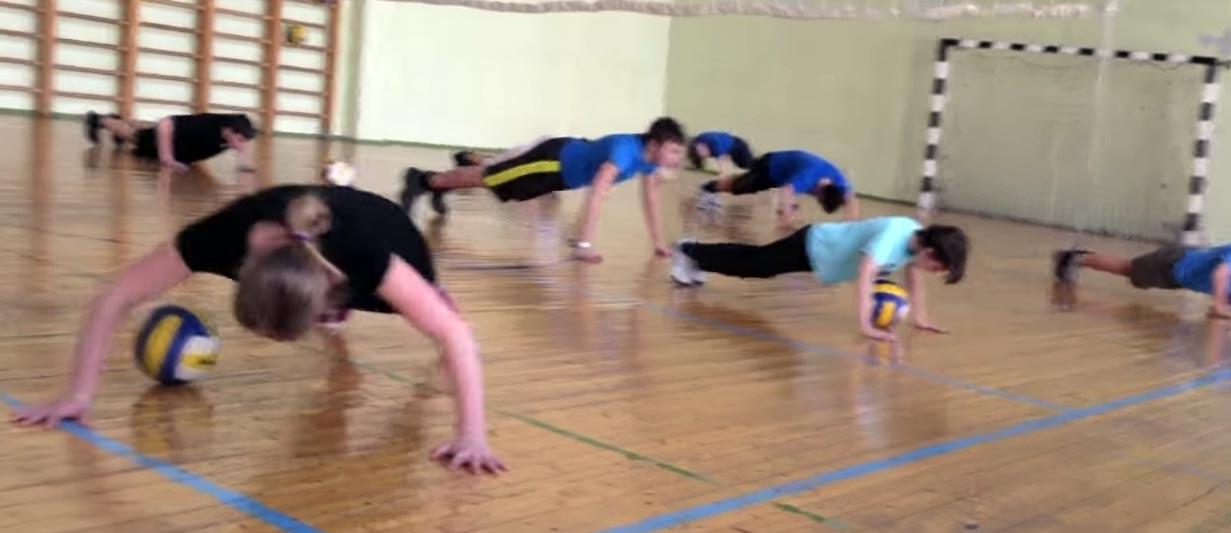 отжимание на уроках физкультуры