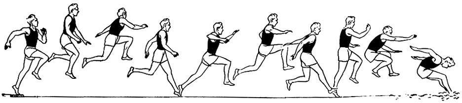 техника тройного прыжка