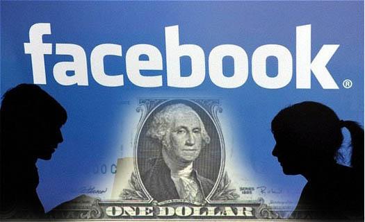 facebook - платные сообщения