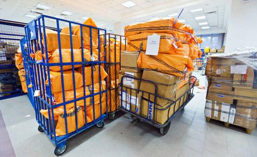 транспортировка почты
