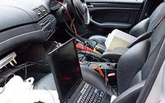 IT преступление с машины