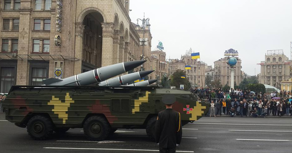 фото с парада на день независимости в Киеве
