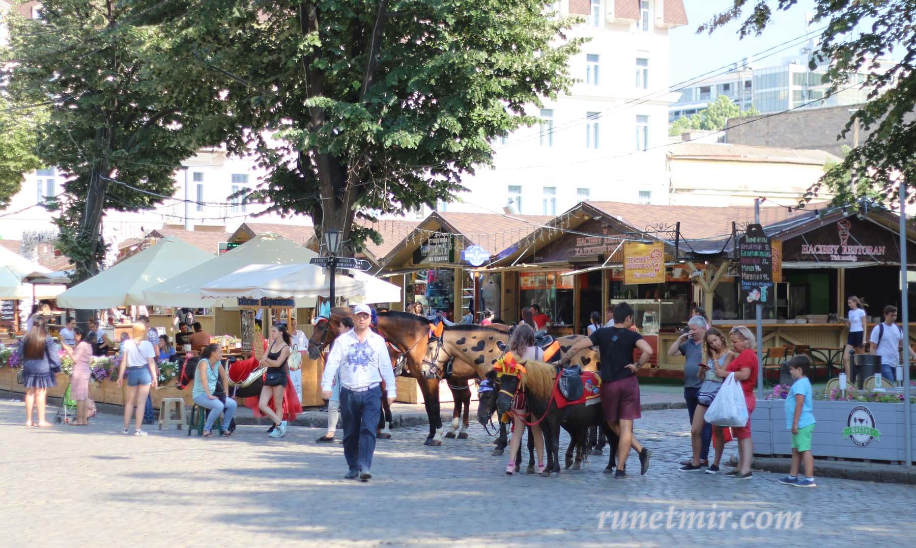 Улица отдыха в Одессе
