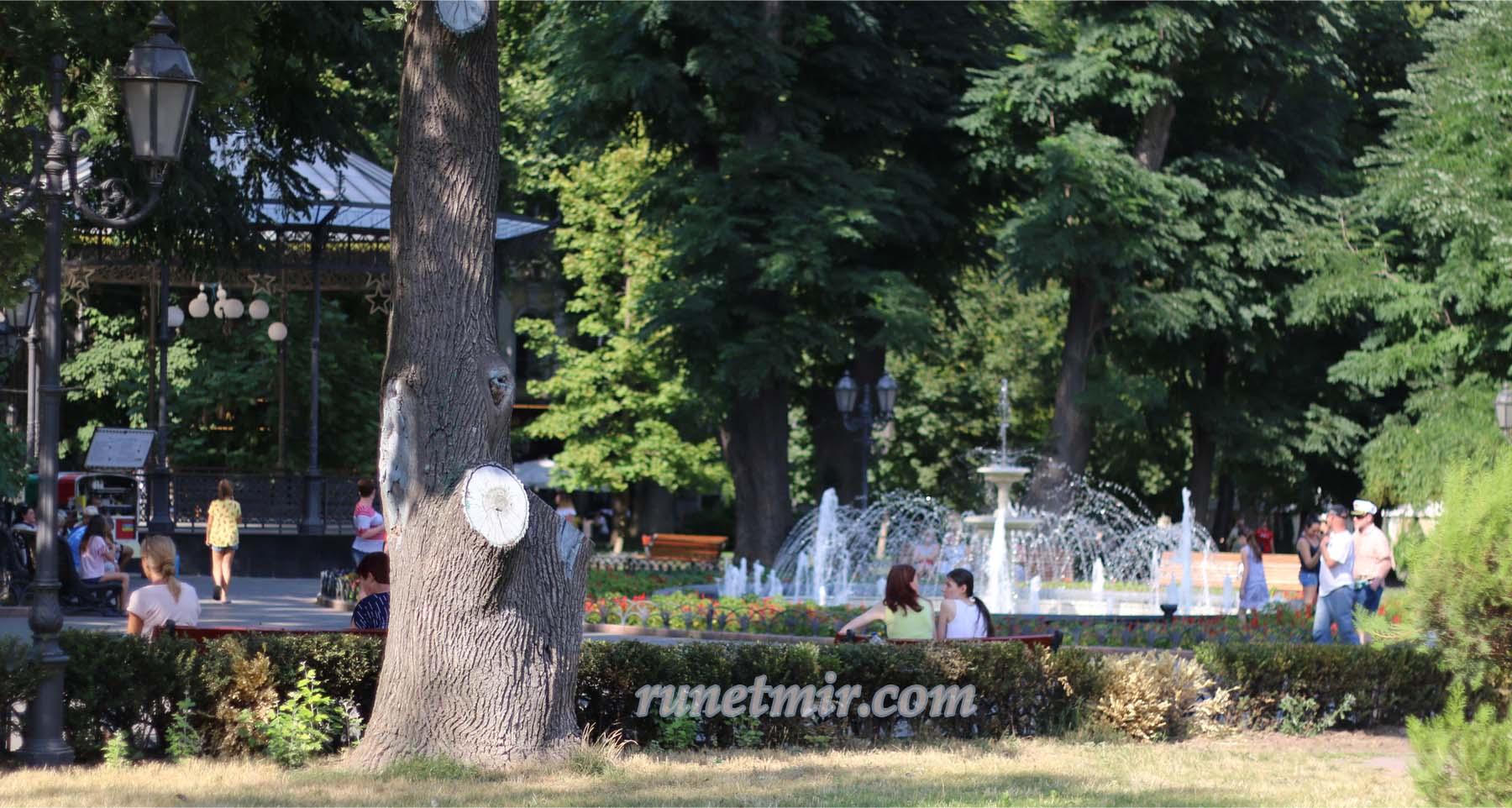 Одесский парк отдыха для людей