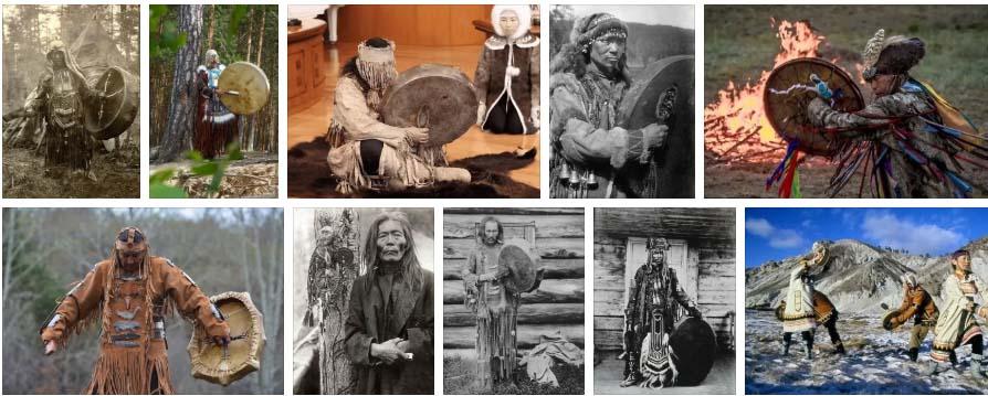 эвенкийские шаманы