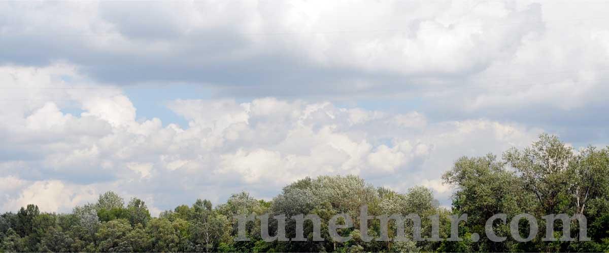 Облака - как тучки пролетая