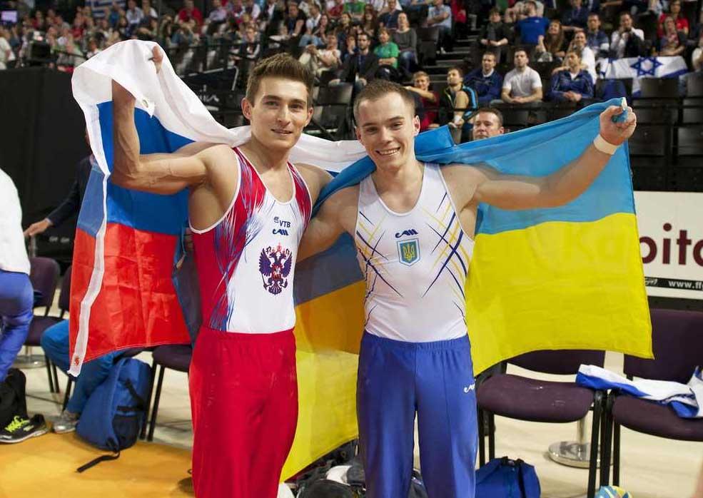 Украина и Россия вместе в спорте