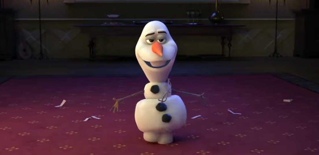 Снеговичок их Холодного сердца 2