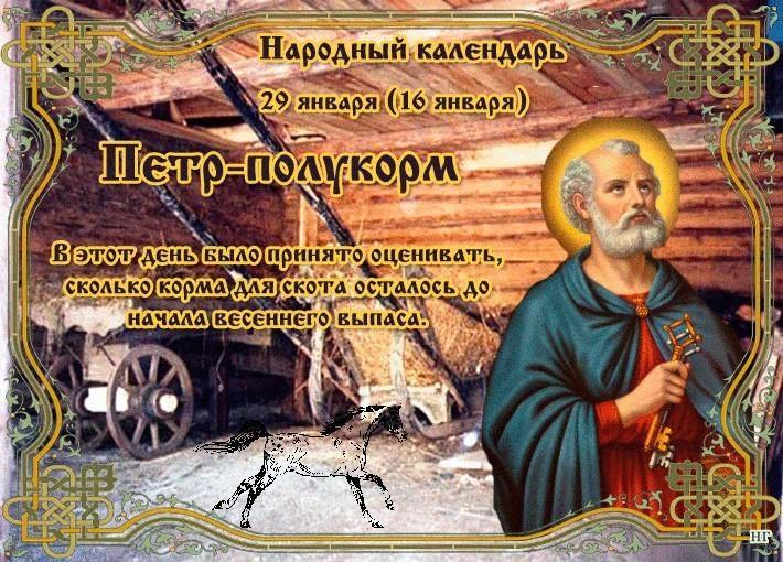 Петр Полукорма - 29 января