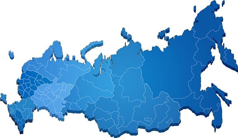 Схема карты России