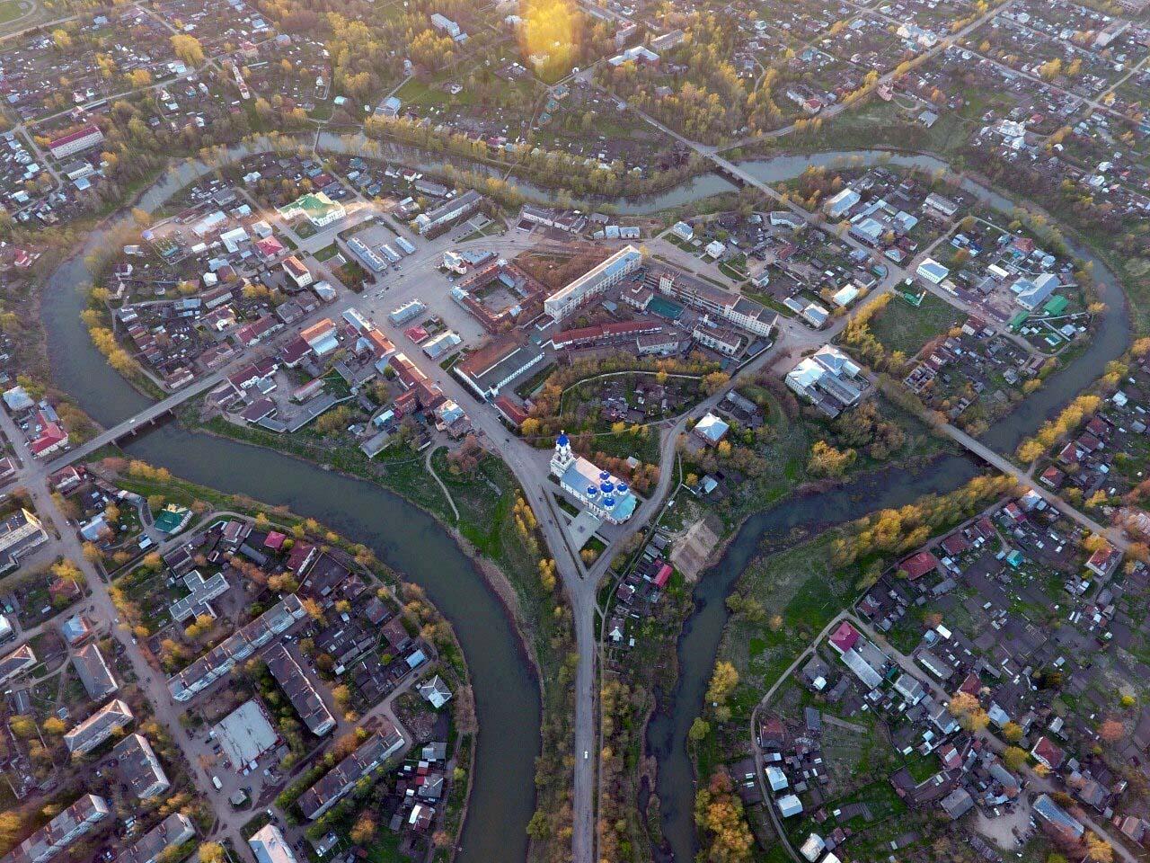 река Кашин и город сердце России
